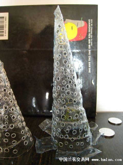 一个矿泉水瓶子做的2个疏水罩