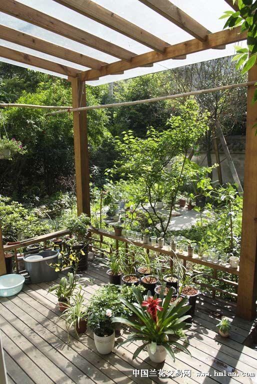 农村小花园图片 客厅阳台小花园设计 小花园设计图片